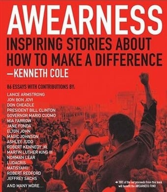 KENNETH COLE PRODUCTIONS, INC. AWEARNESS BOOK COVER