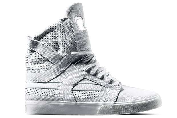 purchase cheap 28df0 34183 Supra TUF 2010 Spring Collection White Skytop II