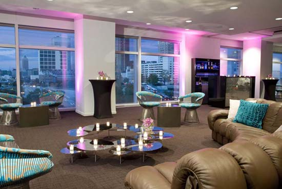W hotel atlanta delux magazine lifestyle fashion for W kitchen downtown atlanta
