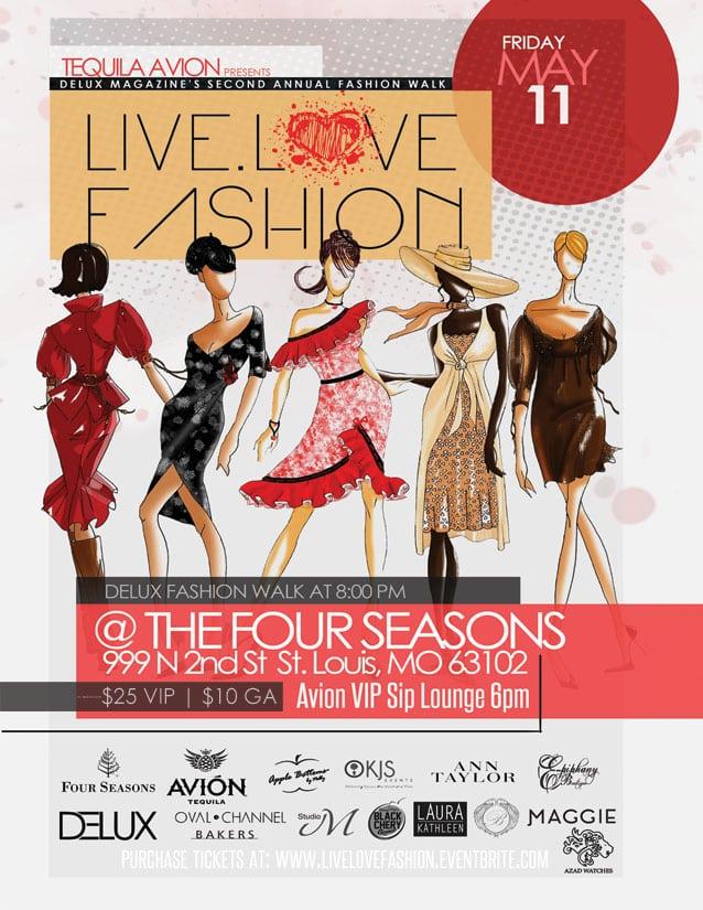 live love fashion flyer