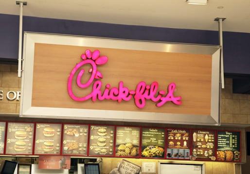 chick-fil-a sign