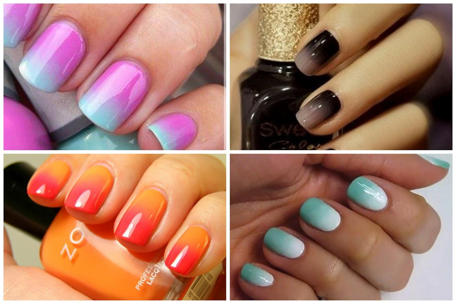 how to get ombre nails at home