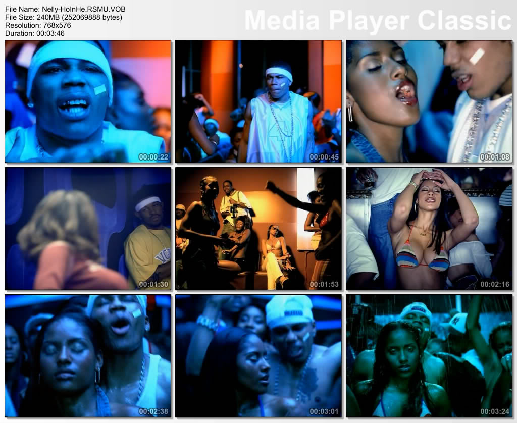 Hot in herre nelly video girls