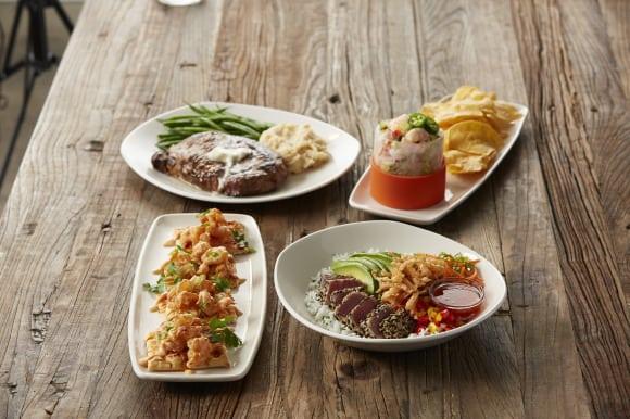 Ribeye Tuna Shrimp Ceviche