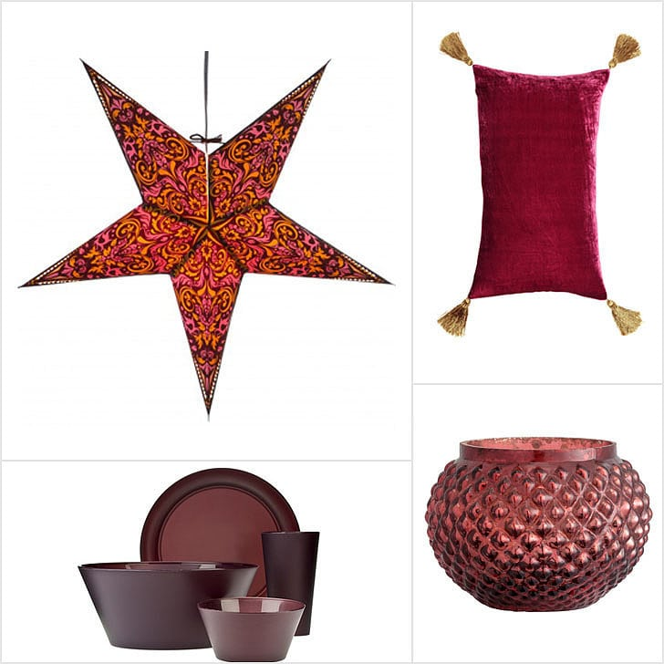 Home decor items for your marsala integration needs! www.popsugar.com