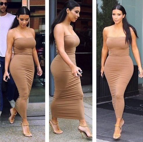 Kim-Kardashian-Fashion-Style-Wolford-Dress-Tom-Ford-Heels-Instagram2