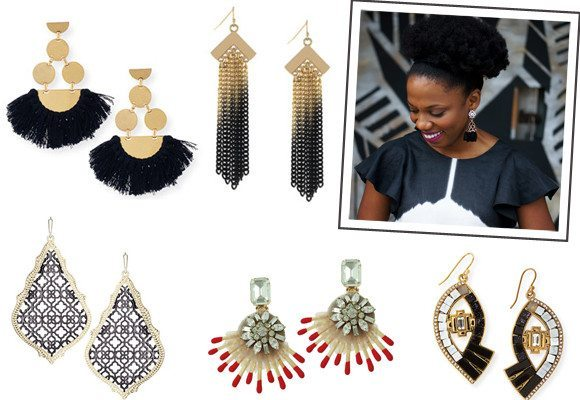 Statement earrings for fall 2015