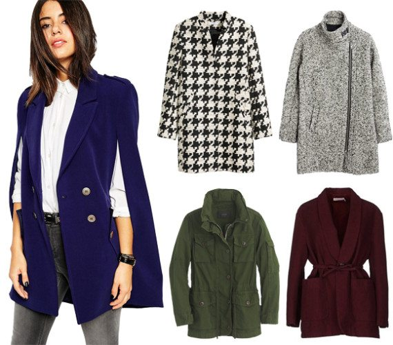 Fall 2015 Coat Trends, Outerwear