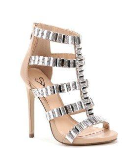 |Nude Starlet Gem Heels| Windsorstore.com