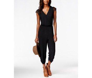 |American Rah Lace-Sleeve Jumpsuit| Macys