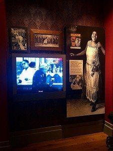High technology exhibit of the Legendary Bessie Smith.