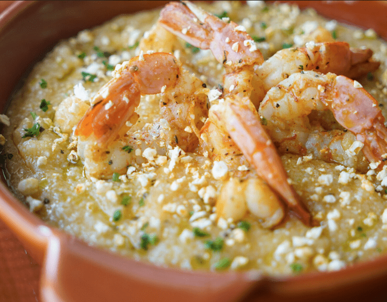 PRIME 55 - SHRIMP AND GRITS